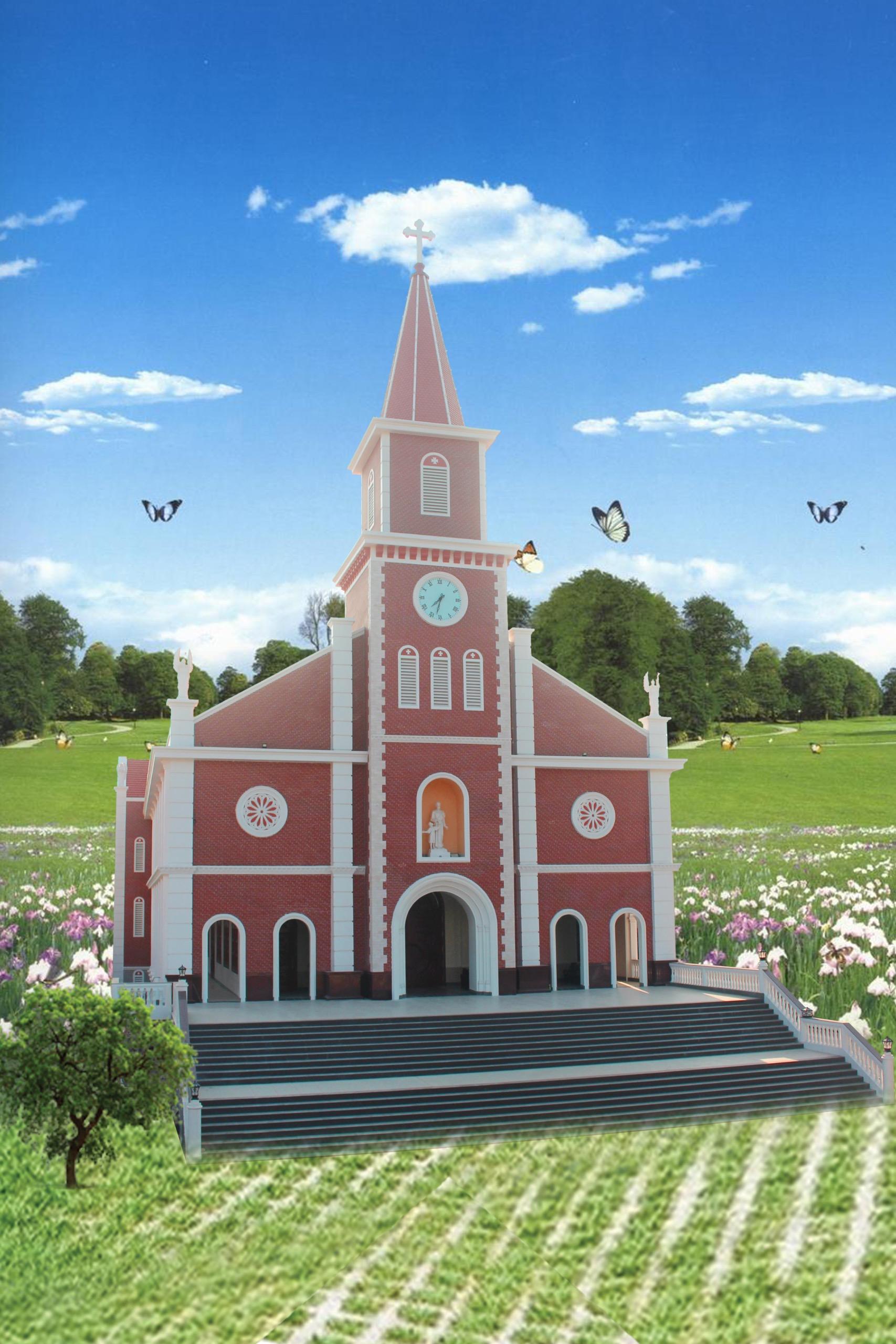 Dòng Mến Thánh Giá Cái Nhum: Thánh Lễ Tạ Ơn - Làm Phép Nhà Nguyện và Thánh Hiến Bàn Thờ 03.5.2021