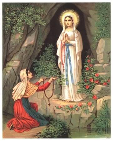 Phép lạ Đức Mẹ Lộ Đức và thánh nữ Bernadette full HD