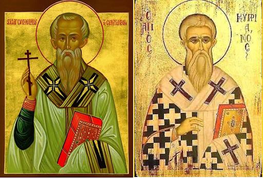 Ngày 16/09: Thánh Corneliô, Giáo hoàng & Thánh Cyprianô, Giám mục tử đạo