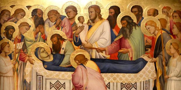 Sự chết và lên trời của Đức Maria: Những tư tưởng tuyệt vời của các thánh.