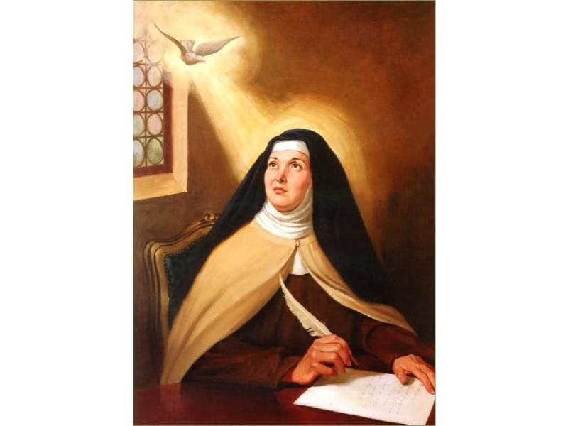 Ngày 15/10: Thánh Têrêsa Avila, Trinh nữ, Tiến sĩ Hội thánh