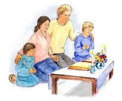 Gia đình cầu nguyện