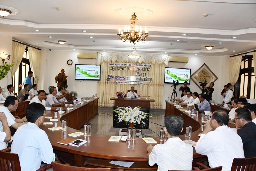Hội Nghị Thường Niên của Ủy ban Mục vụ Gia đình lần thứ XI- 2020: Ngày thứ nhất