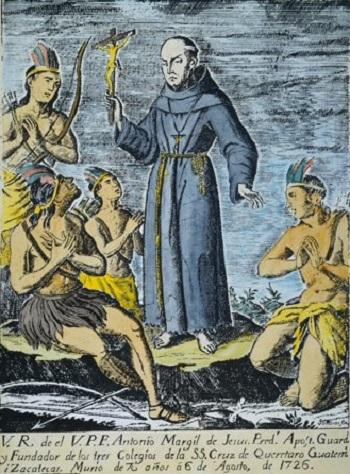 Đấng Đáng Kính Antôn Margil  (1657-1726)