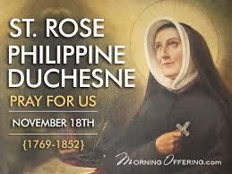 Thánh Rose Philippine Duchesne