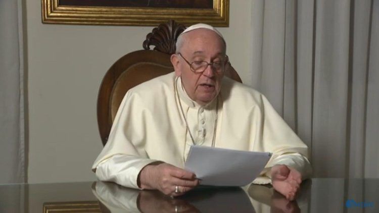 Đức Thánh Cha gửi sứ điệp video cho các tham dự viên tham dự cuộc gặp gỡ