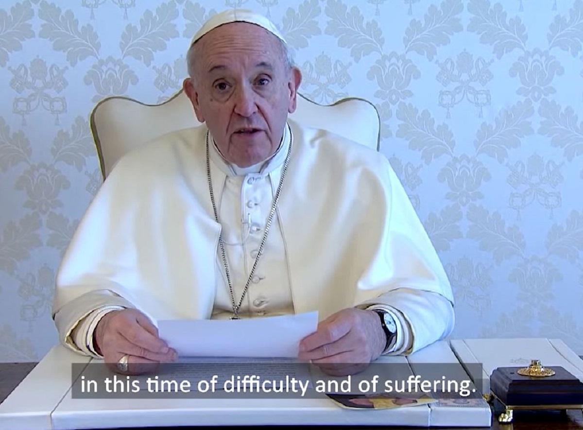 Thông điệp video của Đức Thánh Cha Phanxicô trong dịp Tuần Thánh 2020