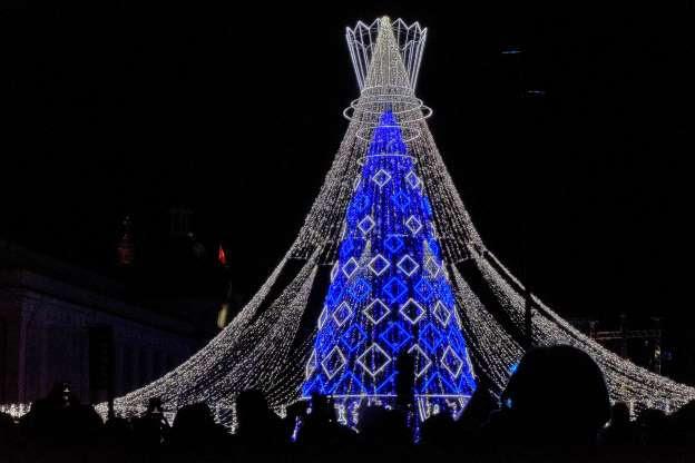 Những Cây thông Noel tuyệt đẹp trên khắp thế giới