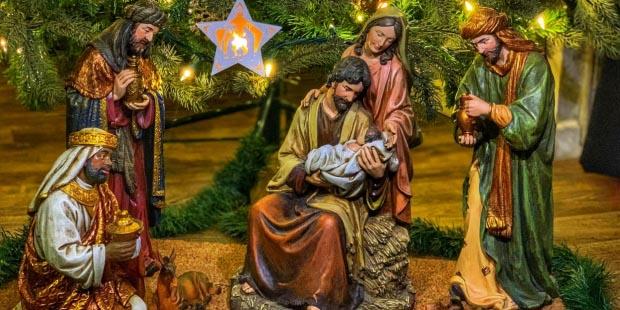 Tác phẩm đoạt giải cuộc thi Hang đá Giáng Sinh 2019 tại Vatican.