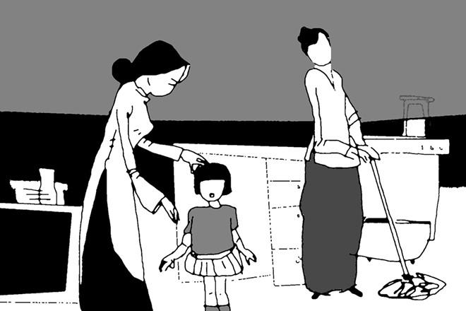 Gia đình dấu yêu: Dạy con biết sẻ chia