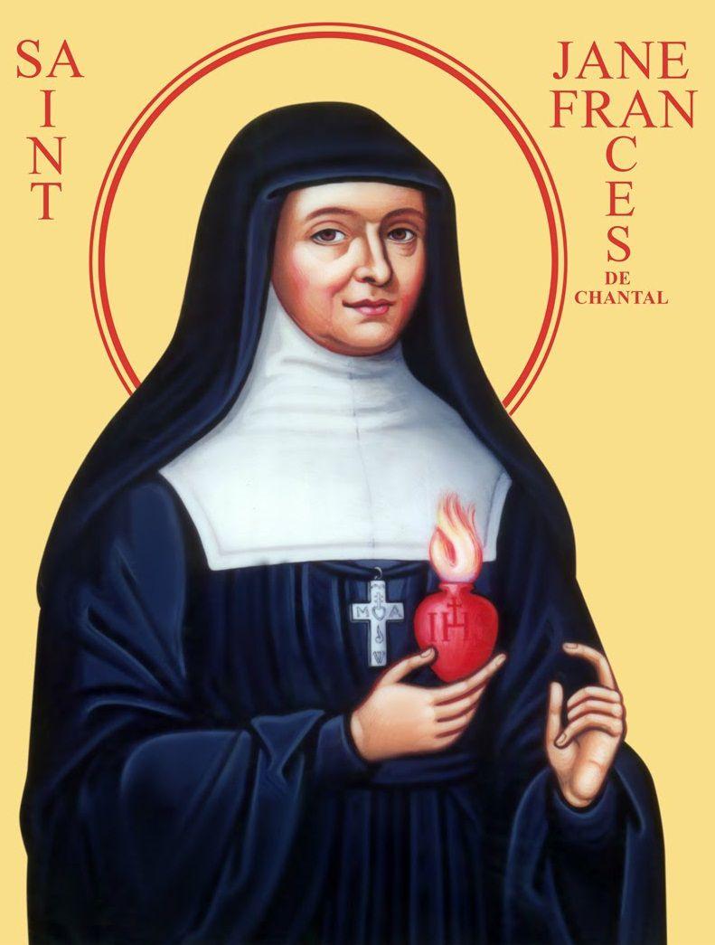 Thánh Jeanne de Chantal  (1572-1641)