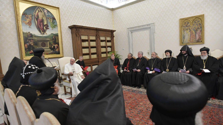 Lần đầu tiên các linh mục và tu sĩ trẻ của các Giáo hội Chính thống Đông phương thăm và nghiên cứu tại Roma