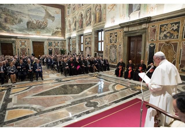 Đức Thánh Cha tiếp Hội nghị 'Năm thứ 100'
