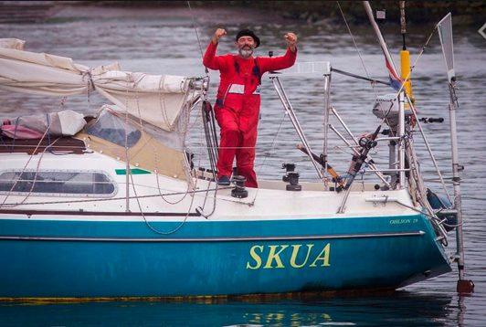 Covid-19: Đi thuyền băng Đại Tây Dương để đến bên đầu giường người cha 89 tuổi