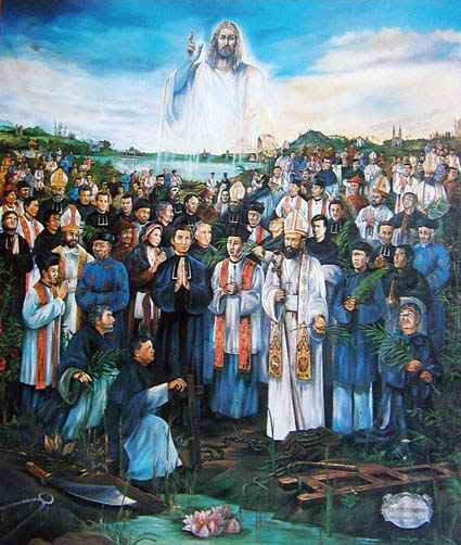 Ý nghĩa bức họa Các Thánh Tử Đạo Việt Nam.
