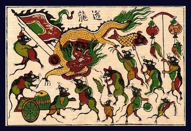 Nguồn gốc Việt (Nam) của tên 12 con giáp - Tí *chơk chút chuột (10B)