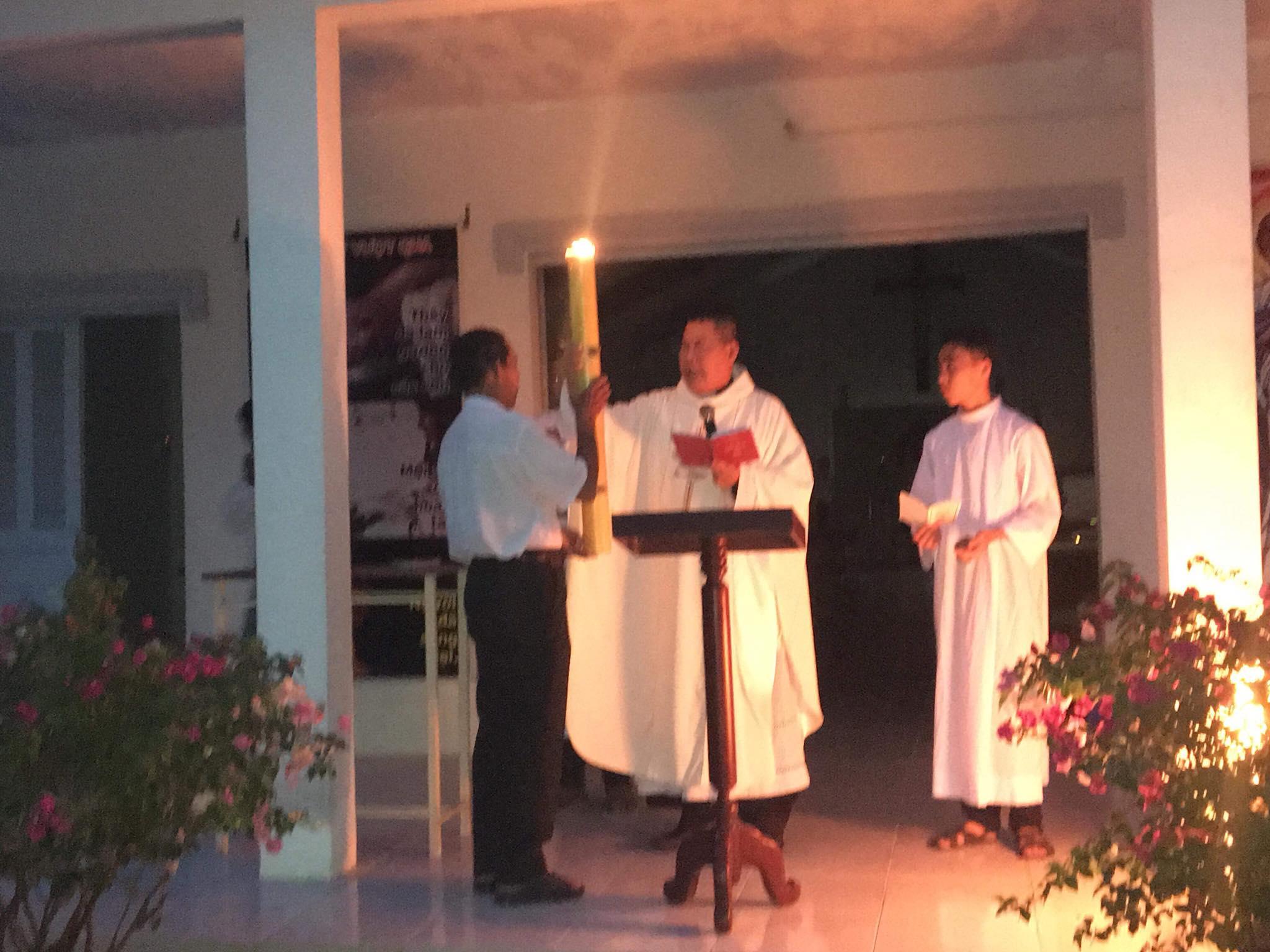 Họ đạo Tân Long : Thánh Lễ Vọng Phục Sinh