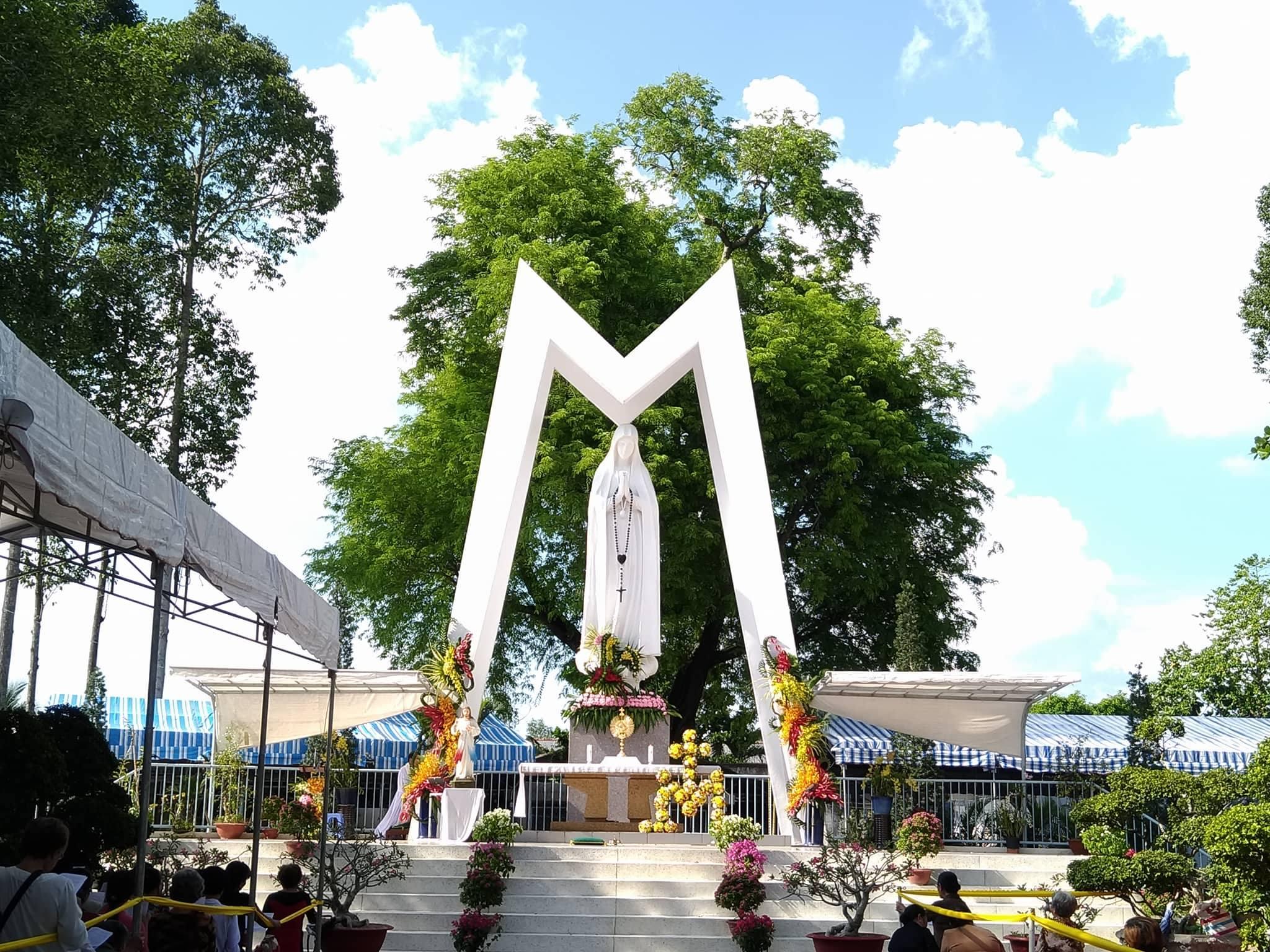 TTHH Fatima Vĩnh Long : Khai mạc hành hương kính Mẹ 12.5