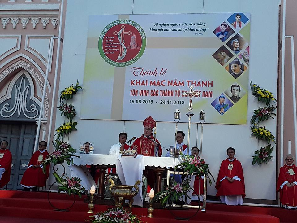 Giáo Phận Đà Nẵng : Thánh Lễ khai mạc Năm Thánh Tôn vinh các vị Thánh Tử Đạo Việt Nam