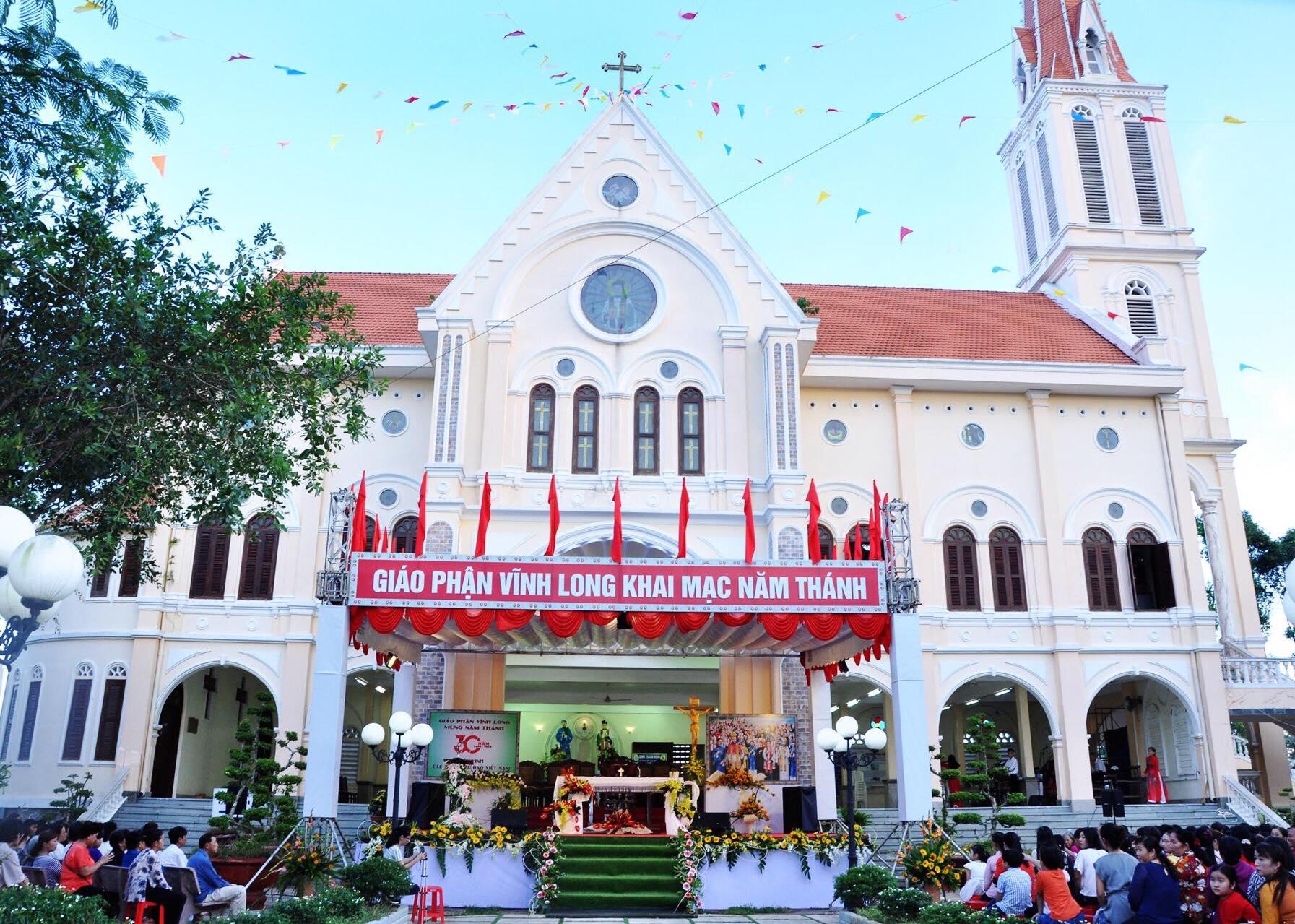 Giáo phận Vĩnh Long: Đêm trước ngày khai mạc Năm Thánh kính các Thánh tử đạo Việt Nam