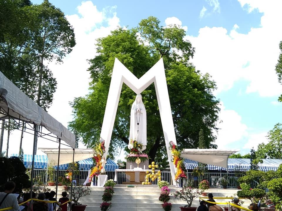 Chương trình hành hương Đức Mẹ Fatima Vĩnh Long ngày 12 và 13 tháng 10 năm 2018