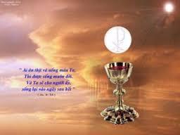 Lời nguyện tín hữu :  Lễ Mình Máu Thánh Chúa