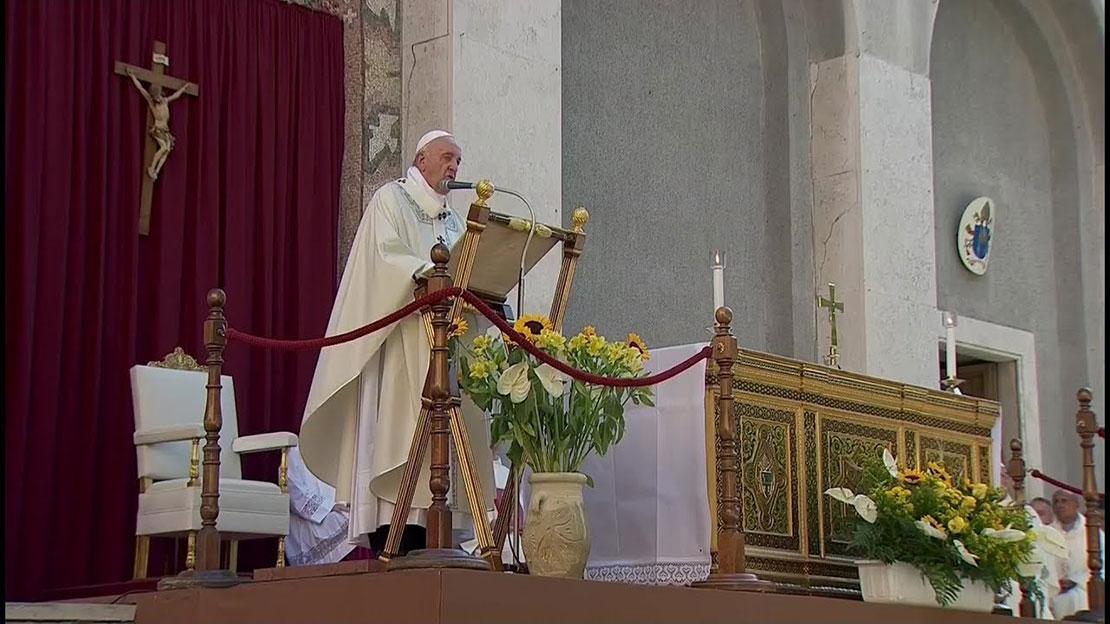 Bài giảng của Ðức Thánh Cha trong Thánh lễ Mình và Máu Thánh Chúa Kitô tại Casal Bertone, Rôma.