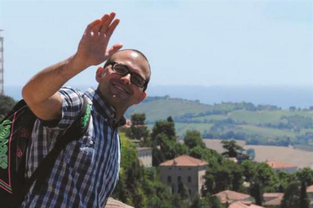 Giampiero Morettini, chủng sinh của nụ cười