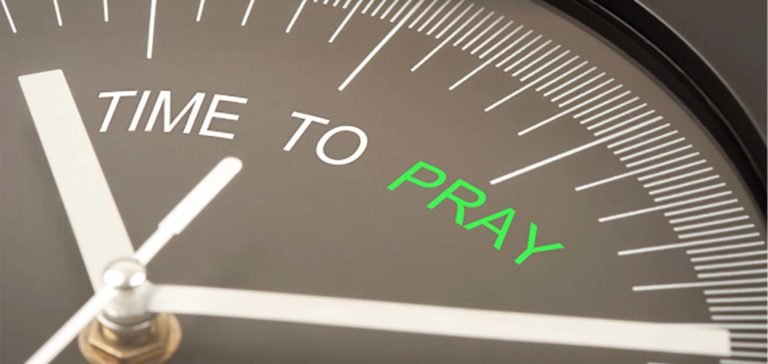Quá bận rộn để cầu nguyện ?
