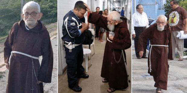Những cử chỉ đơn sơ của cha Roberto de Maracanaú làm dậy sóng mạng xã hội ở Braxin