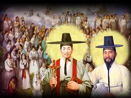 Thánh Anrê Kim Taegon, Phaolô Chong Hasang và Các Bạn.
