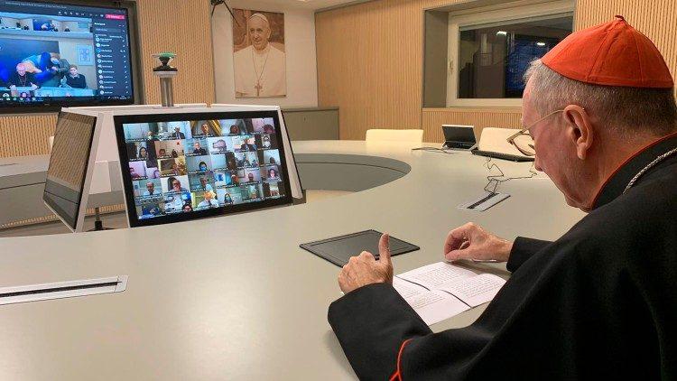 ĐHY Pietro Parolin gửi sứ điệp video tới Hiệp hội Giáo viên Công giáo Ý