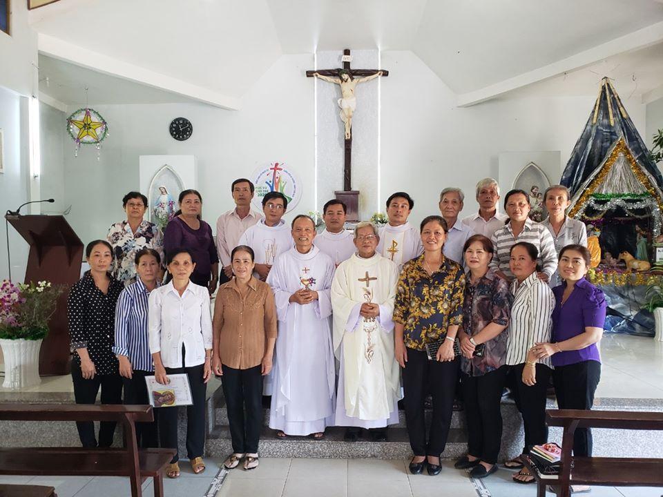 Họ đạo Phú Đức và Tân Phú : Kết nạp thành viên Caritas