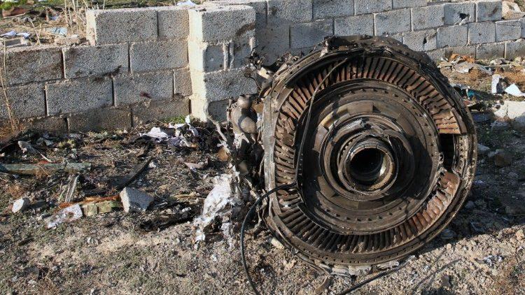 ĐTC Phanxicô chia buồn về vụ tai nạn máy bay ở Iran