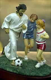 Chúa Giêsu Ði Xem Bóng Ðá
