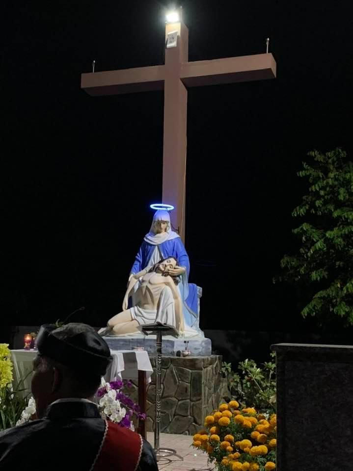Họ Đạo Phú Thuận dâng lễ kính nhớ Tổ Tiên, Ông Bà, Cha Mẹ tại Đất Thánh