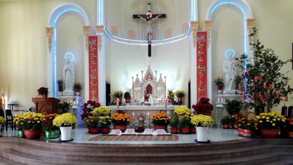 Họ đạo Cái Nứa : Thánh Lễ tân Niên