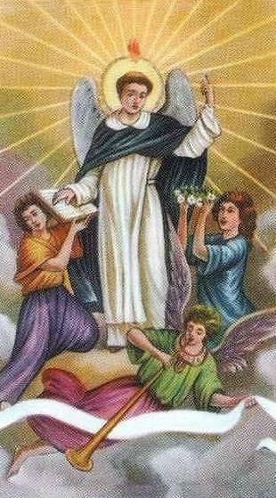 Tại sao Thánh Vinh Sơn có cánh, lưỡi lửa…?