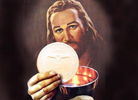 Rước lễ bằng cách chấm MìnhThánh Chúa