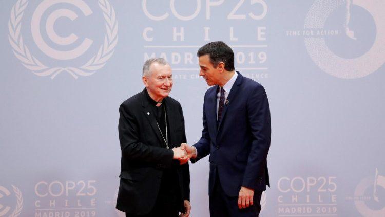 Đức Hồng y Parolin: Tòa Thánh ủng hộ Hội nghị về biến đổi khí hậu