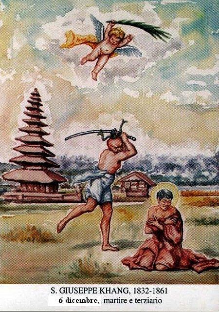 Thánh Giuse NGUYỄN DUY KHANG, Thày Giảng dòng ba Đaminh (1832-1861)