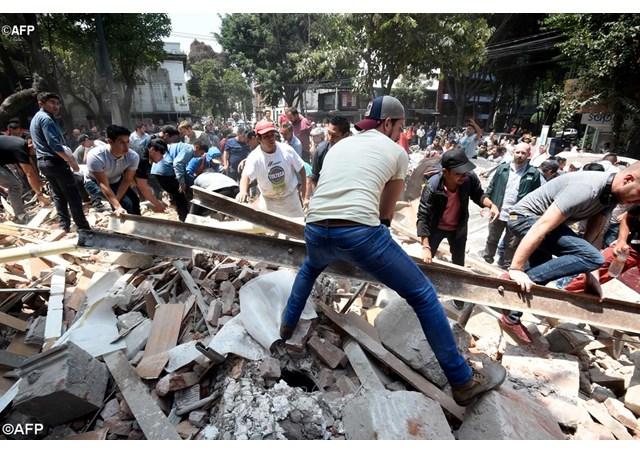 Các giám mục Mễ Tây Cơ kêu gọi đoàn kết với những nạn nhân động đất