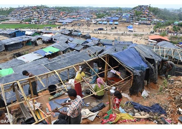 Caritas Bangladesh cứu trợ người tị nạn Myanmar
