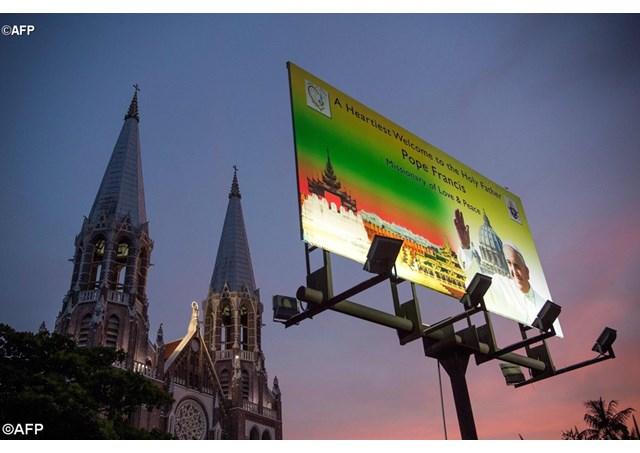 Sứ Điệp Đức Thánh Cha gửi Giáo Hội và dân nước Myanmar