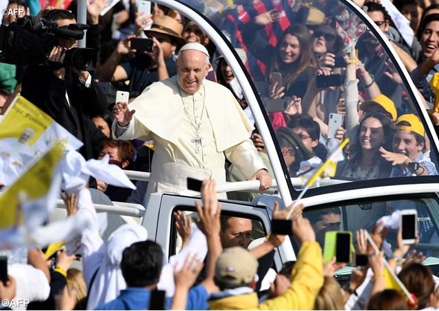 Đức Thánh Cha cử hành thánh lễ đầu tiên tại Chile
