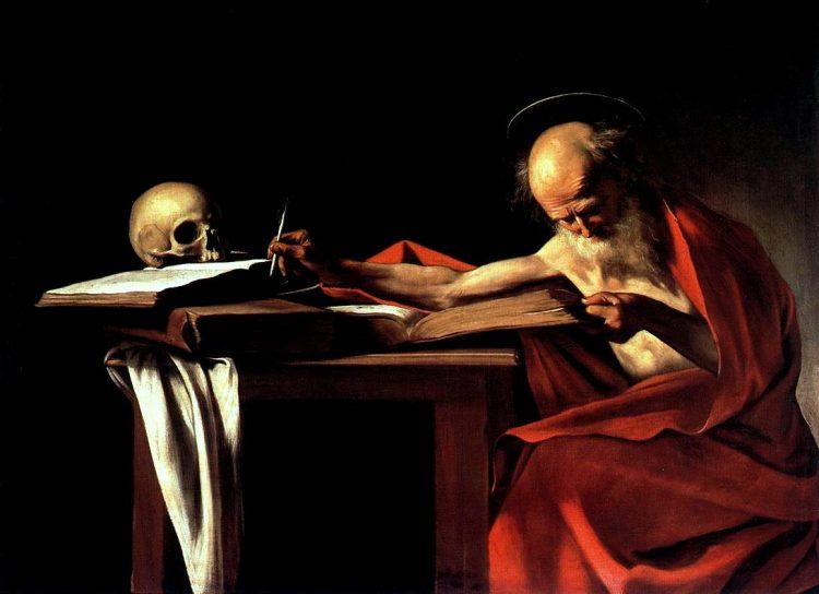 Tại sao lại có đầu lâu trong hình của nhiều vị thánh?