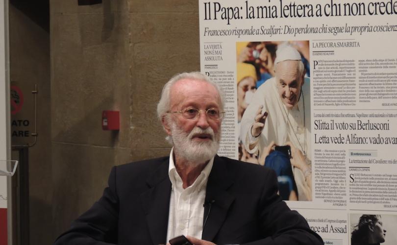 Tòa Thánh cực lực bác bỏ tin giả của Scalfari nói Đức Phanxicô không tin Chúa Giêsu là Thiên Chúa