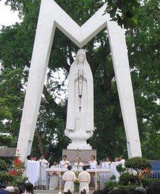 Hành Hương Kính Đức Mẹ tại Fatima Vĩnh Long 05.2015