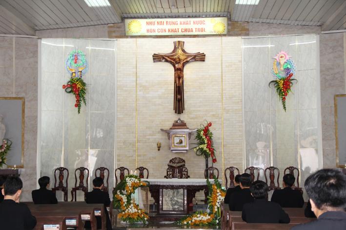 Đại Chủng Viện Thánh Quý: Thánh Lễ Tạ Ơn Tri Ân Quý Cha Giáo
