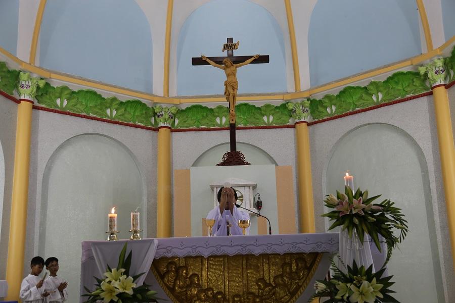 Họ đạo La Mã : Thánh Lễ Tiệc Ly